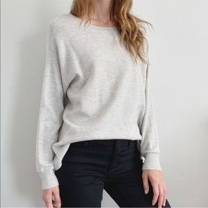 AE Classic Gray Oversized Pullover Sweater